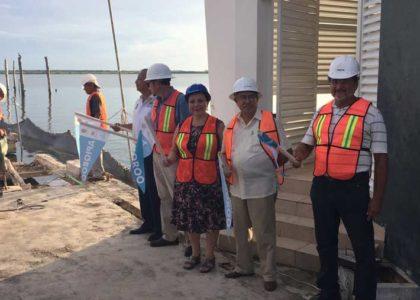 Apiqroo inicia la reconstrucción del muelle en Club Náutico de Chetumal