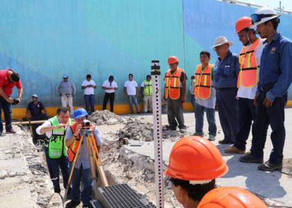 Inicia construcción de nuevo sistema pluvial en el paso a desnivel de Bonfil