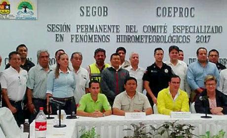 """MANTIENEN ACTIVO EL PROTOCOLO DE SEGURIDAD POR REMANENTES DE """"NATE"""""""