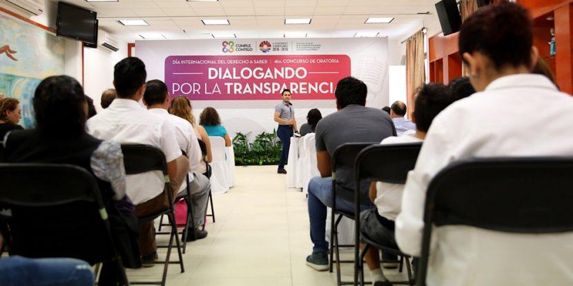 FOMENTA BJ LA CONSTRUCCIÓN DE LA DEMOCRACIA Y LA TRANSPARENCIA