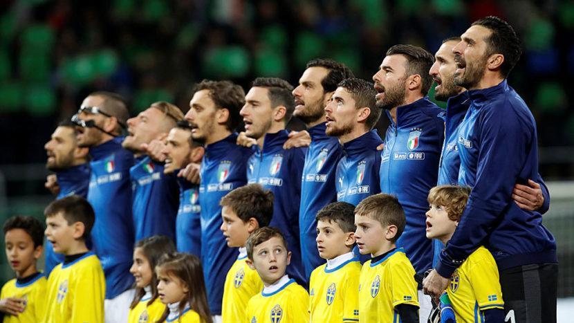 Italia queda fuera del Mundial de Rusia 2018