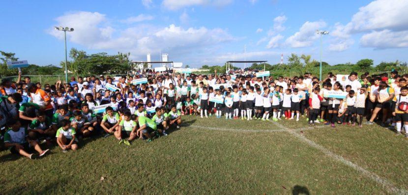El fútbol es para todos: Liga Popular de Desarrollo