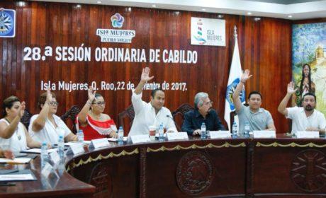 CABILDO DE ISLA MUJERES APRUEBA DESCUENTOS EN IMPUESTO PREDIAL