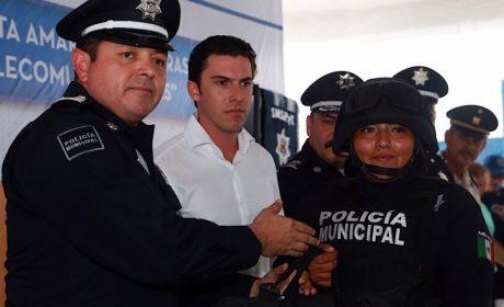 Reorganiza Benito Juárez inversión para Seguridad Pública
