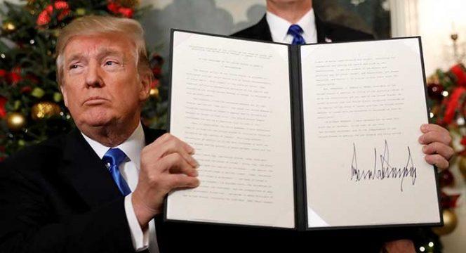 Trump perturba el conflicto entre Israel y Palestina, pero promete la paz