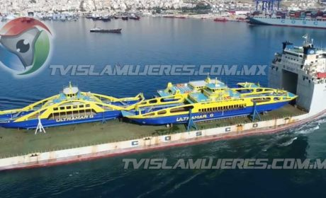 Esperan que el clima mejore para poder poner a flote los nuevos ferrys