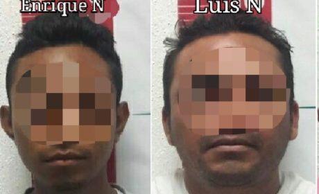 CONFIRMAN DETENCIÓN DE PRESUNTOS EXTORSIONADORES