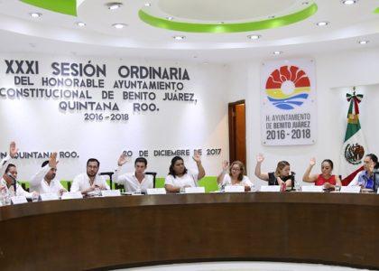 APRUEBA CABILDO DE BJ PRESUPUESTO DE EGRESOS 2018