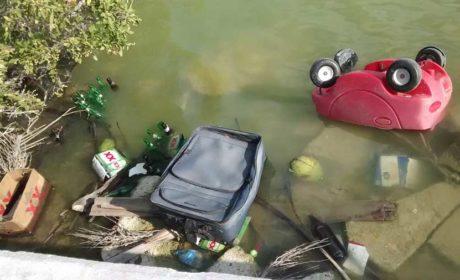 Denuncian grave contaminación en Salinas de Isla Mujeres