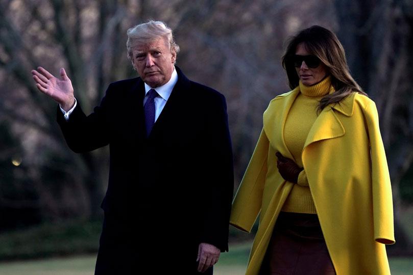 Trump critica migración familiar; dan residencia a sus suegros