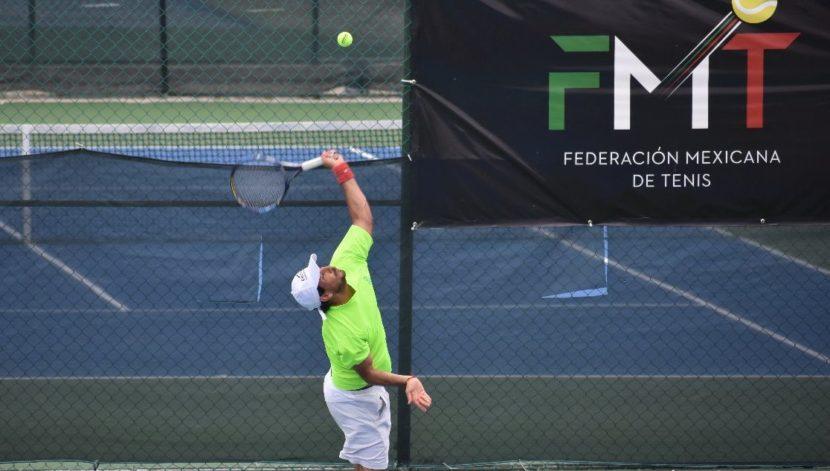 Vargas Sigue Firme En La 4ta Etapa del Circuito Profesional Mexicano De Tenis