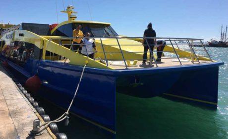 Celebra Ultramar el arribo de sus dos nuevos barcos de lujo para Isla Mujeres
