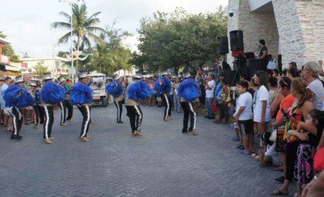 Continúa la fiesta del Carnaval en Isla Mujeres