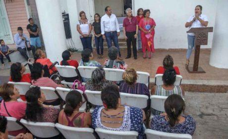 Cumple el Gobierno de Isla Mujeres con brindar Gobierno cercano a la ciudadanía