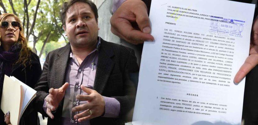 VIDEO: Denuncian a Anaya por corrupción ante PGR