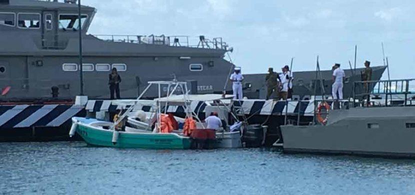 Aseguran dos embarcaciones menores por no contar con documentación