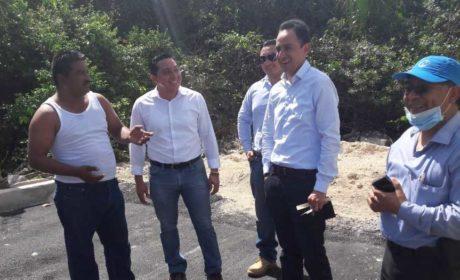 Buen avance y calidad de obras realizadas por el Gobierno de Isla Mujeres