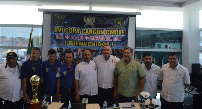 """Anuncian XVI Edición De La """"Copa Cancún Caribe 2018"""""""