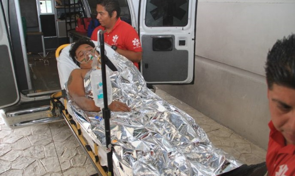 Grave el joven baleado en villas otoch tvqroo for Villas otoch