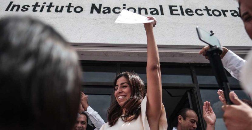 Marybel Villegas la Senadora con más votos de México